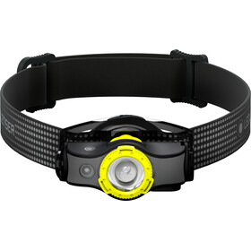 Led Lenser MH5 Faro Delantero, black/yellow